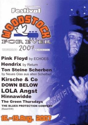 WOODSTOCK FOREVER FESTIVAL 2007